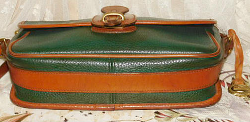 Vintage Dooney & Bourke All-Weather Leather Equestrian