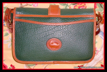 Vintage Dooney over under bag