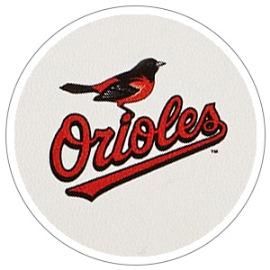 New! MLB BALTIMORE ORIOLES Key Ring Dooney & Bourke Key Fob