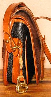 Black Vintage Dooney Marble Bag