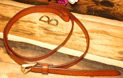 "Vintage AWL Shoulder Bag Strap plus D-Ring Set 7/8""-Vintage AWL Shoulder Bag Strap plus D-Ring Set"