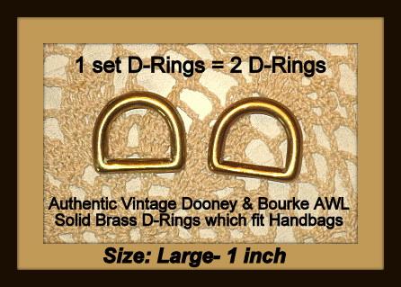 VintageDooneyD-rings