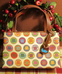 Dooney Medallion Tiney East/West Bag New w/Tags-Dooney Medallion Tiney East/West Bag New w/Tags