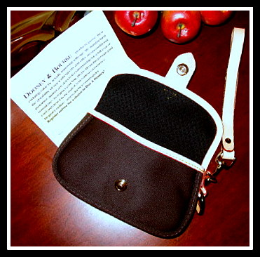 Dooney & Bourke Jet Black Wristlet
