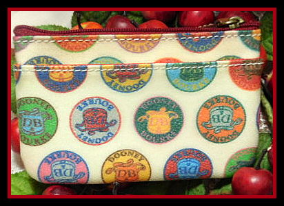 Dooney Medallion coin purse
