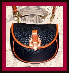 Vintage Dooney Bourke Mini Flap Bag