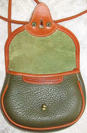 Vintage Dooney Cavalry Body Bag