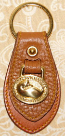 Dooney and Bourke All Weather Leather  Vintage Duck Key Fob