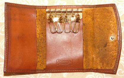 Vintage Dooney Folded Key Case