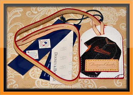 Baltimore Orioles Major League Base Ball Luggage Tag