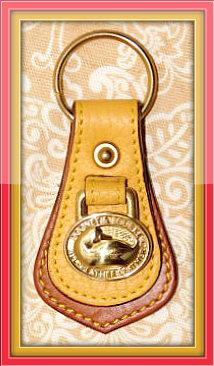 Vintage Duck Key Fob Dooney & Bourke AWL