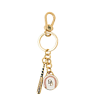 Home Run Baseball Key Fob NEW!-Baseball Key Fob, Dooney Bourke Baseball key fob