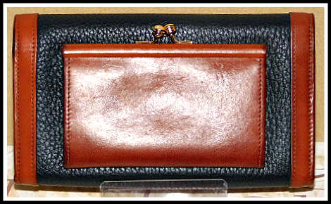 Vintage Dooney and Bourke  All-Weather Leather  Checkbook wallet