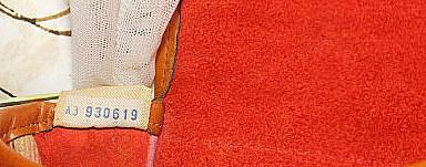 Red Vintage Marble Dooney Tack Bag