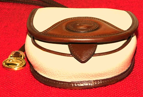 Vintage Dooney and Bourke  All-Weather Leather AWL  Vintage Belt Bag