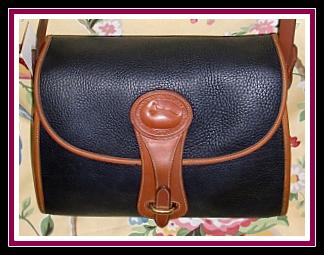 SOLD!!! Sublime Licorice Black Vintage Dooney Large Essex Shoulder Bag-Black ,Vintage Dooney, Large Essex Shoulder Bag, Dooney & Bourke