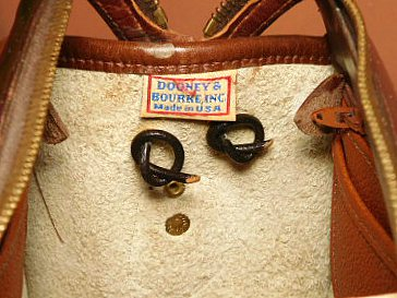 Dooney Satchel Shoulder Bag