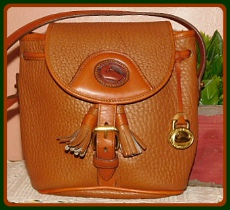 Saddle Up Vintage Dooney Pouch Crossbody Bag-Vintage Dooney and Bourke