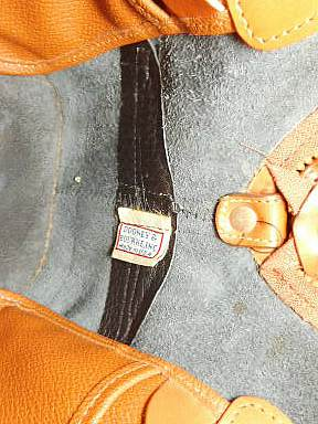 Vintage Dooney and Bourke All-Weather Leather  Norfolk Case