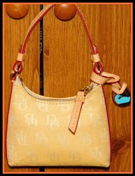 Creamy Lemonade Mini Sac Bag Dooney Signature-Mini Sac Bag Dooney Signature
