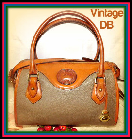 Vintage Dooney and Bourke All-Weather Leather AWL Mini Satchel-Vintage Dooney and Bourke