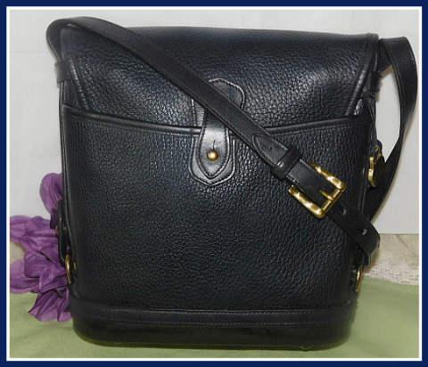 Blue Large Spectator Vintage Dooney Bag