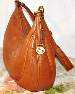 Large Vintage Dooney Crescent Sac