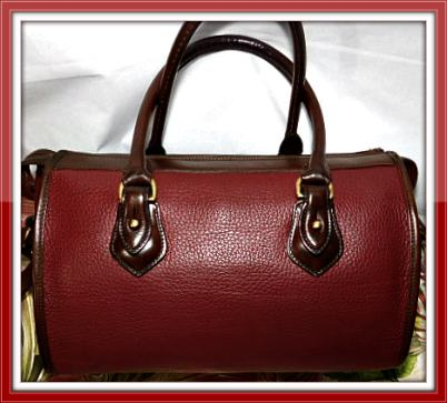 Vintage Dooney and Bourke All-Weather Leather AWL    Vintage Satchel