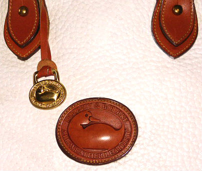 Vintage Dooney Norfolk Satchel Shoulder Bag