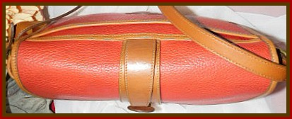 Red Equestrian Bag Vintage Dooney AWL