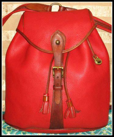 Sherpa Pack Vintage Dooney Backpack