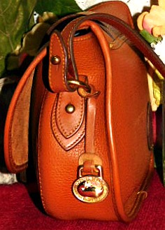 Vintage Dooney and Bourke All-Weather Leather  Tack Bag