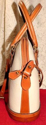 Vintage Dooney and Bourke  All-Weather Leather® Norfolk Bag