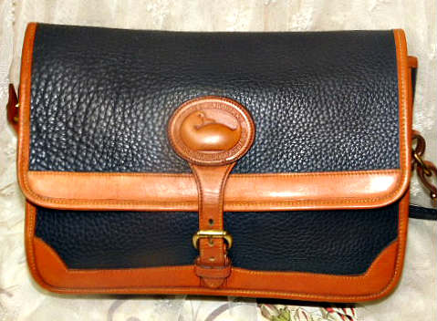 Vintage Dooney and Bourke  All-Weather Leather  Large Surrey Bag