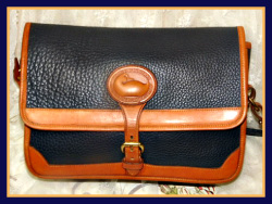 Breathtaking Iris Blue Large Surrey Vintage Dooney Bourke-Equestrian, Saddle Bag Style, Purse, Rare Find, Dooney Bourke, Large, Navy Blue, Surrey Bag, AWL bag, duck seal, duck fob, solid brass, brass duck fob, brassh duck, blue leather bag, blue leather, blue, navy blue dooney, dooney purse, surrey, dooney surrey, large dooney, dooney saddle bag, saddle bag, all weather leather, AWL dooney, wide leather strap, authentic dooney,, nopin