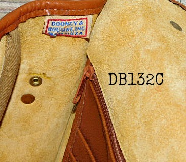 Vintage Dooney and Bourke  All-Weather Leather®  Carrier Shoulder Bag