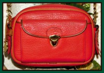 Scottish Red Kilty Bag Vintage Dooney AWL- Red Kilty Bag Vintage Dooney AWL,Red Kilty Bag Vintage Dooney