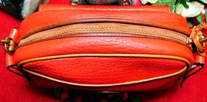 Red Kilty Bag Vintage Dooney
