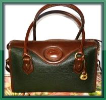 Vintage Dooney and Bourke All-Weather Leather AWL    Vintage Shoulder Satchel