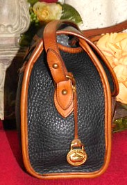 Vintage Dooney and Bourke  All-Weather Leather® Essex Bag