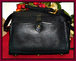 Vintage Dooney and Bourke  All-Weather Leather® Exssex Bag