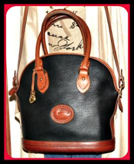 Vintage Dooney Norfolk Bag