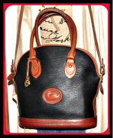 Fashionable Crisp Black Dooney Norfolk Shoulder Bag & Satchel