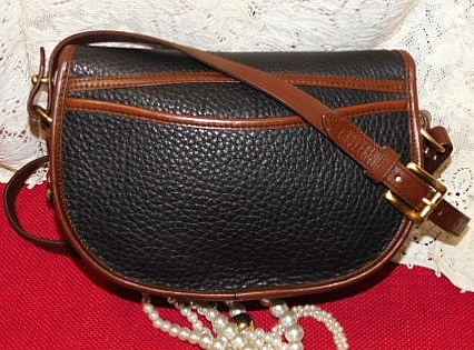 Vintage Dooney Flap Bag