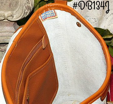 Vintage Dooney and Bourke  All-Weather Leather®  Spectator Bag