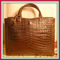 Decadent Chocolate Brown Dooney Satchel-Shoulder Bag-Vintage Dooney and Bourke