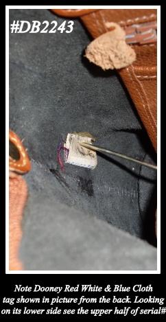 Norfolk Vintage Dooney Bag