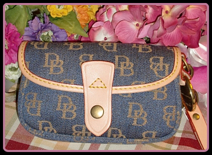 Dooney and Bourke Flap Wristlet