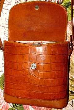 Dooney & Bourke Alligator Flap Bag