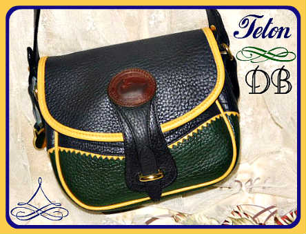 Vintage Dooney and Bourke AWL All-Weather Leather Teton Shoulder Bag